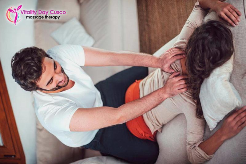 masaje en casa