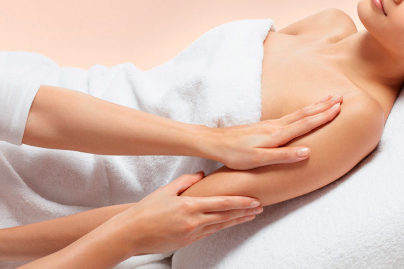 How to do arm massages